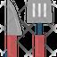 Spatula And Knife