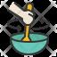 Stir food
