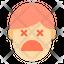 Unconcius Sad Emotion Face