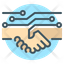 Untact Handshake