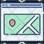 Webpage Map Popup
