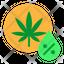 weed percentage