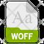 woff file