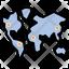 World Map Endemic