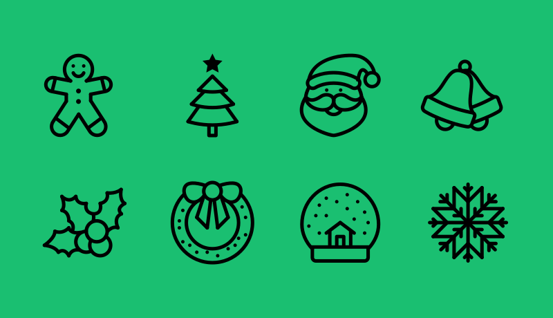 Dottie Christmas 2016 icon pack by Linh Pham