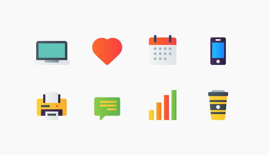 Free User Needs Icons by Chamestudio