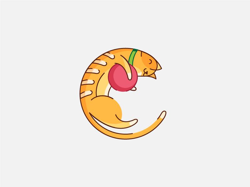 Cat Illustration by Siddhita Upare