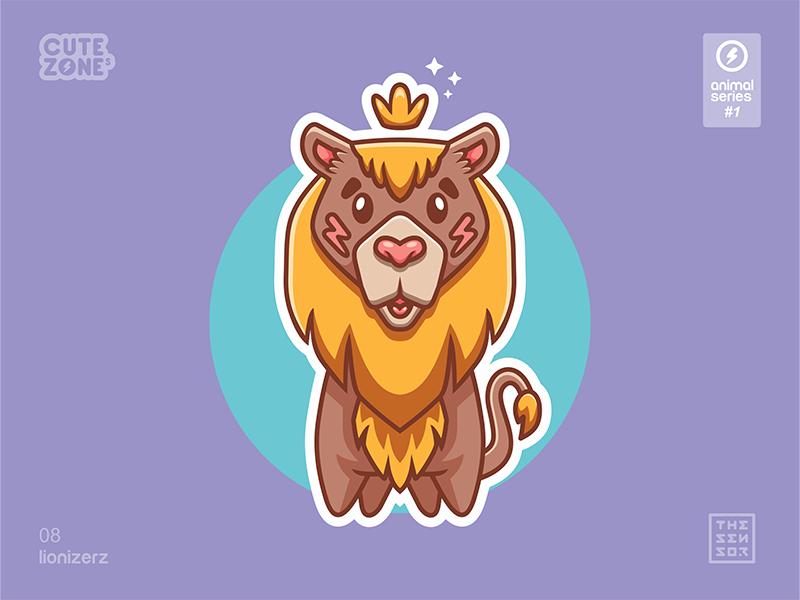 Cute Animal icon by Dimas Tsani H
