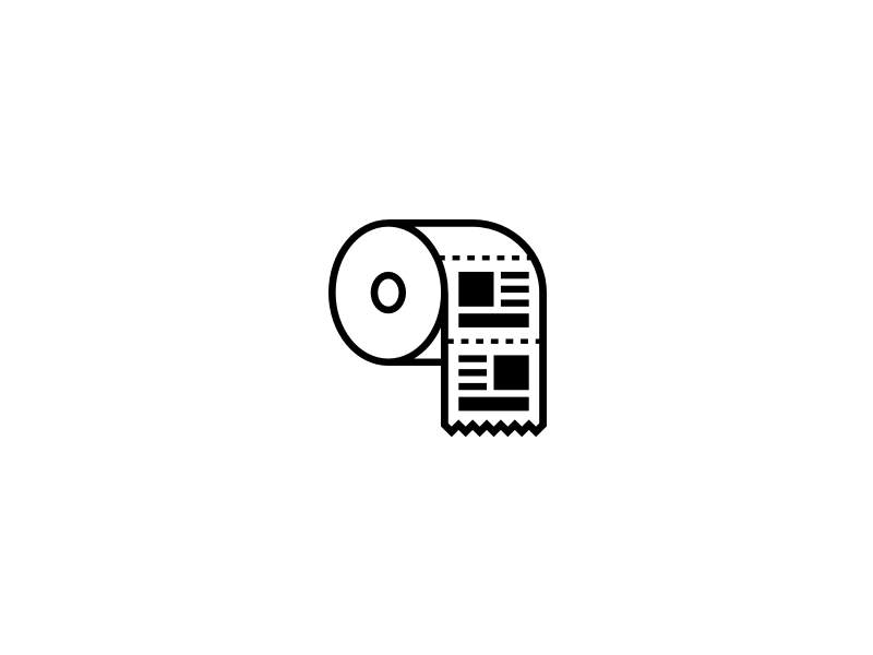 Fake News Icon by Maximo Gavete