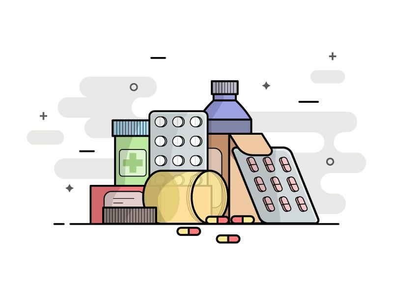 Pharmacy icon pack by Bonie Varghese
