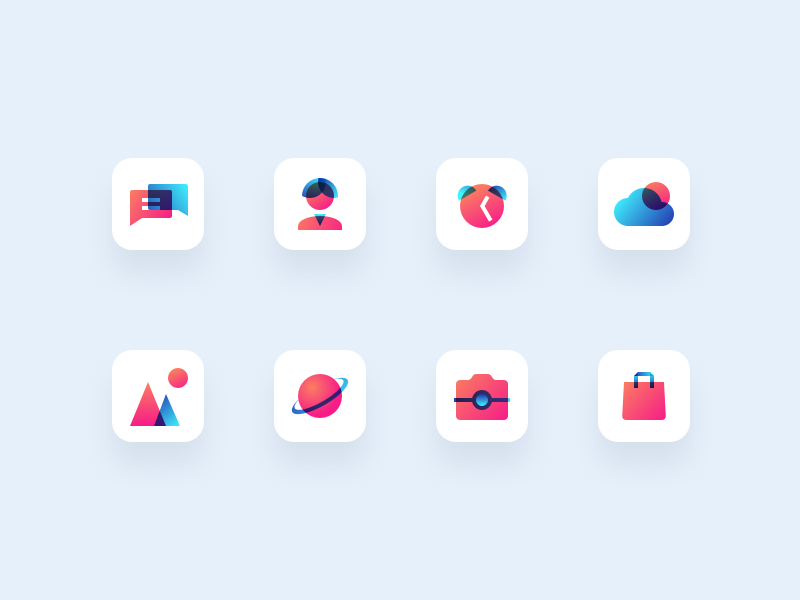 Basic icons by Adam