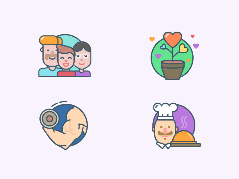 Basic icons by Darius Dan