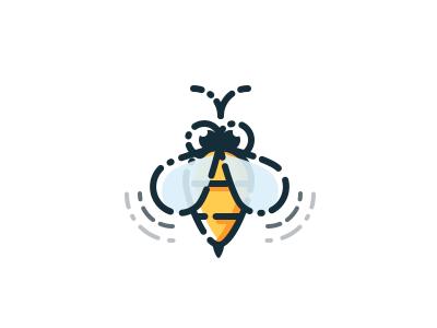 Bee icon by Artyom Davydov