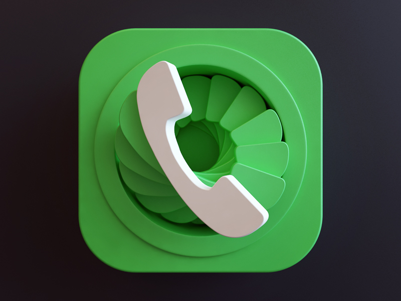Dialer icon by Webshocker