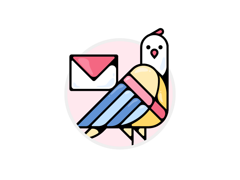 Email icon by Xiangcuicui