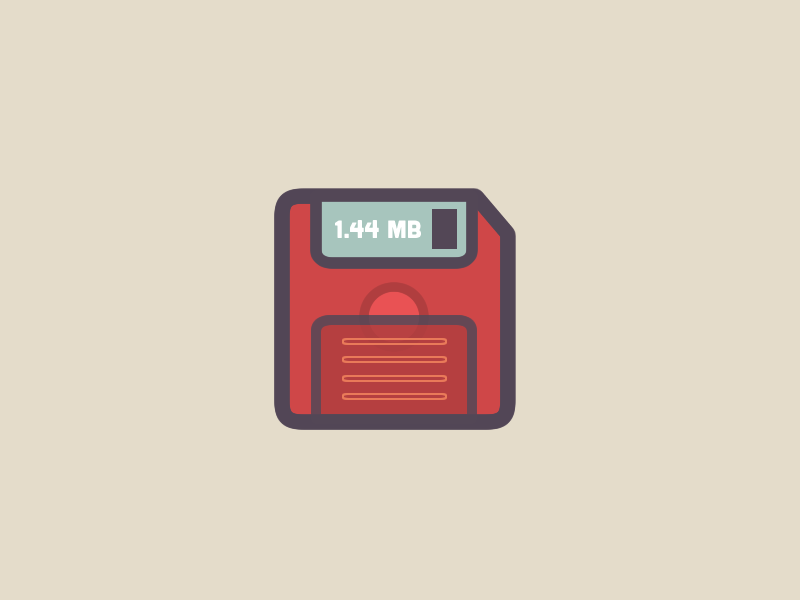 Floppy Disk icon by Christine Scarcelli