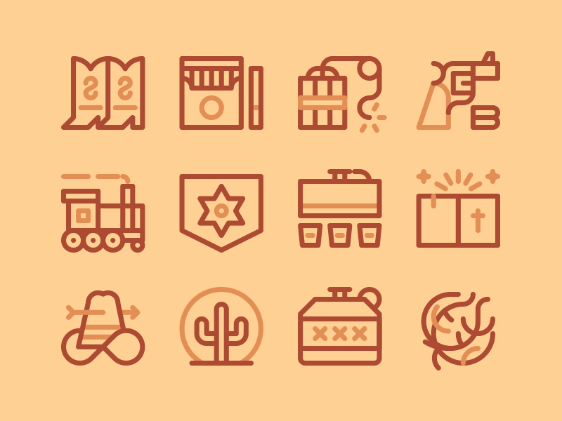 General icon collection by Carlos del Barrio