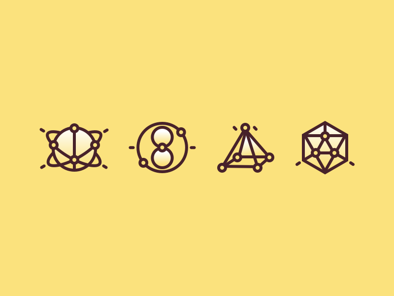 Geometry Force icons by A_dan