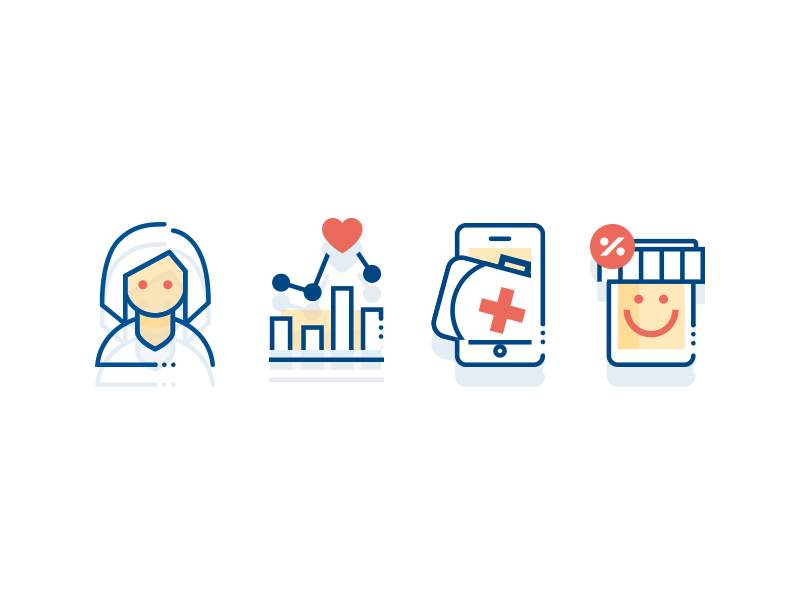HealthHub icon collection by Henry K Foca