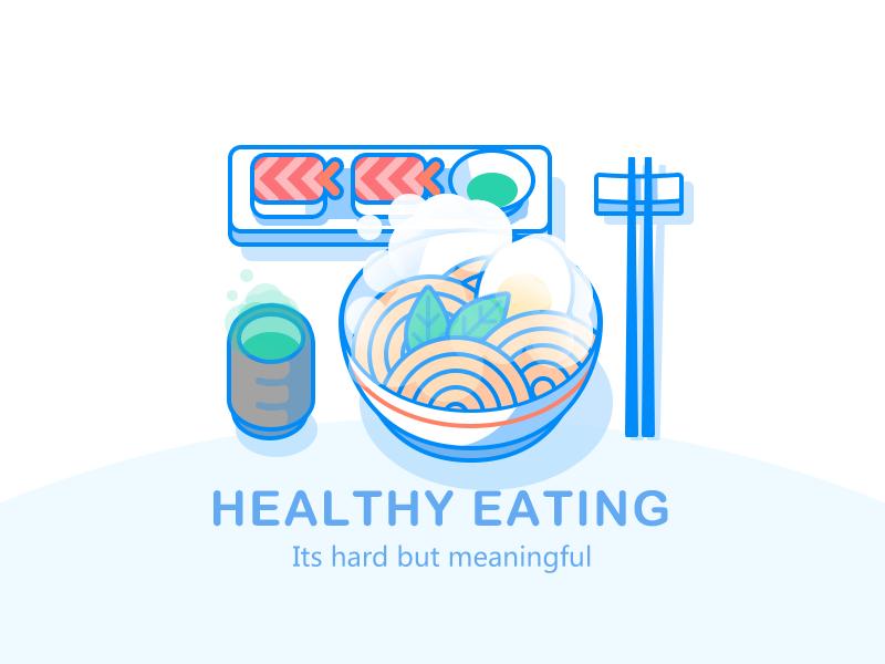 Healthy eating by Haji Su