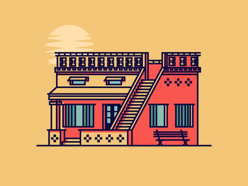 Indian House by Razvan Vezeteu