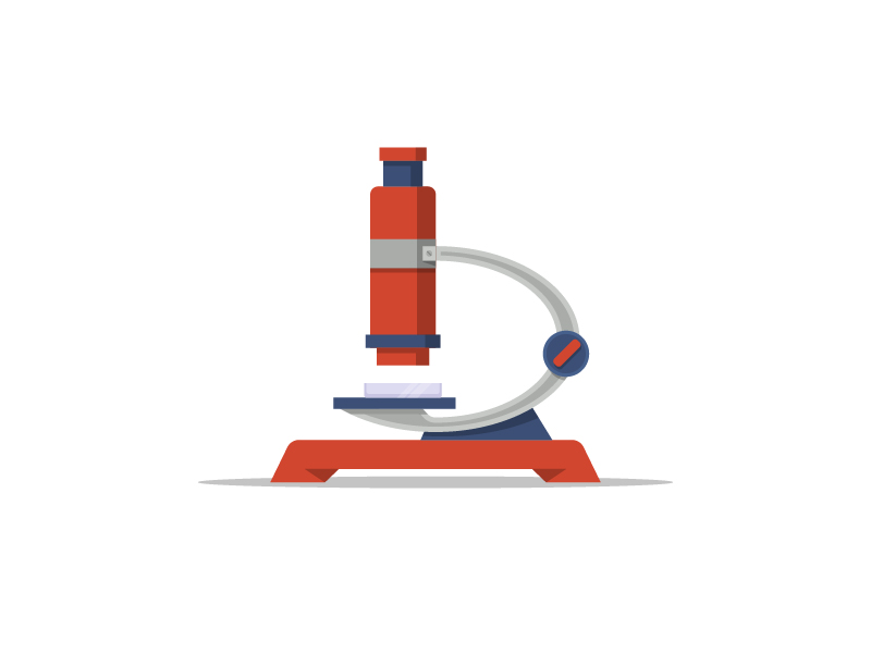 Microscope icon by Igor Varenov