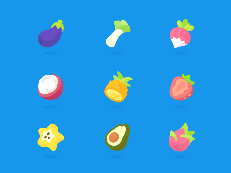 Onion Math Icons by Feng Weining