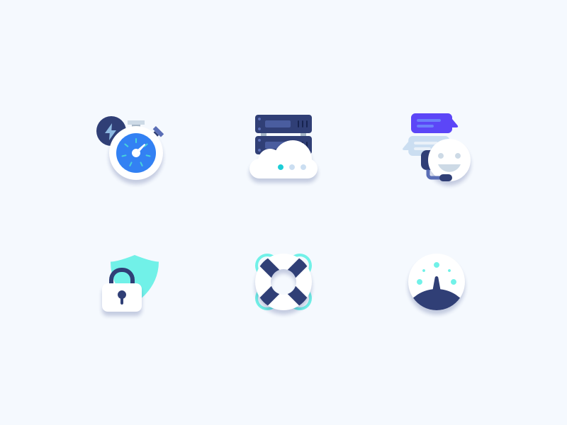 Platform icons by Dalton