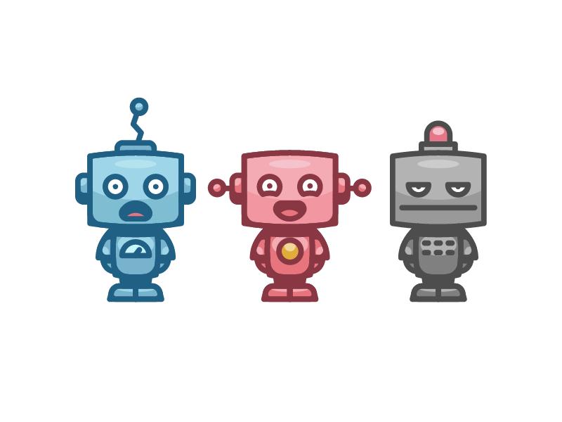 Robots icons by Sergey Ershov