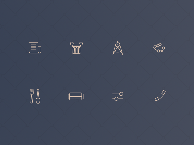Simple icon set by Andre Revin