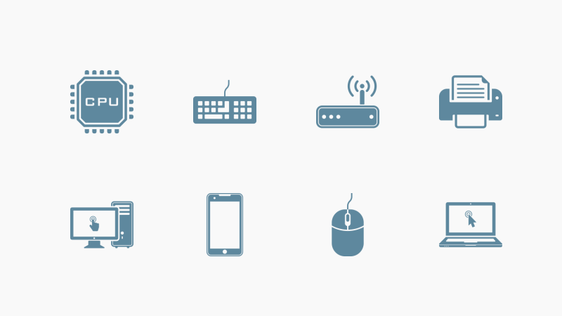 Technology and Hardware icon collection by Maxim Basinski