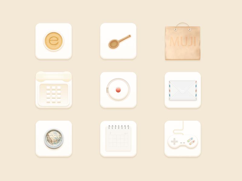 Tile icons by Xiaojianjian