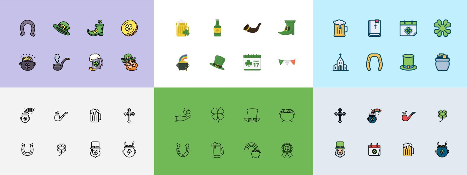 Best St. Patrick's Day Iconsets