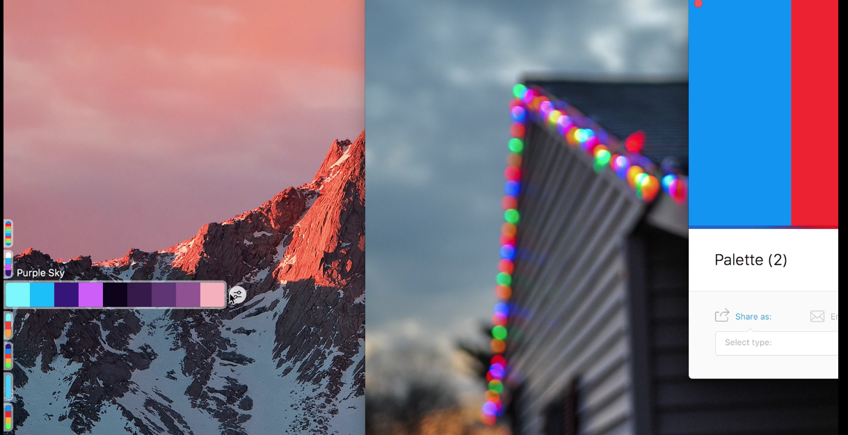9 SipApp color palette generator