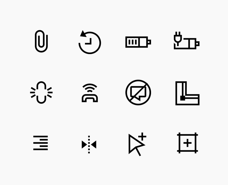 Android and Editor User Interface icon collection by Chamestudio