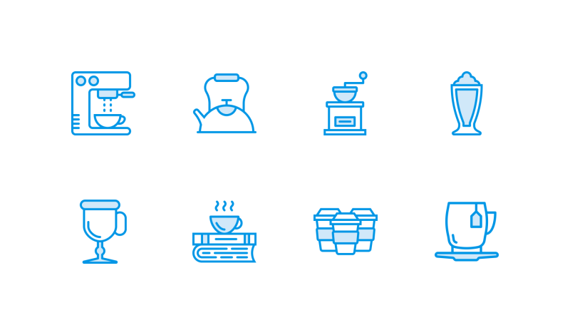 Coffee Shop icons by Smashicons