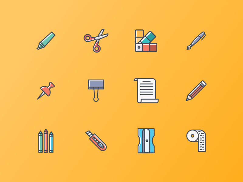 Crafting Icon pack by Jemis Mali
