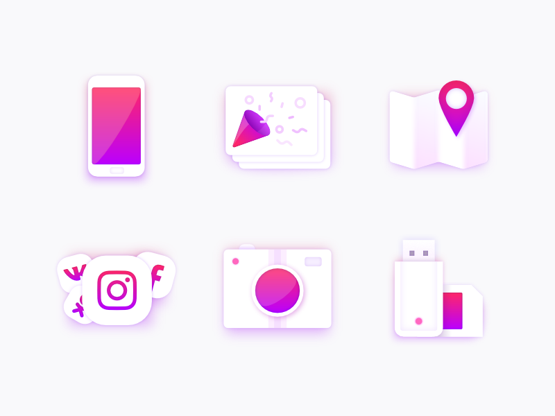 Creative icon collection by Ruslan Babkin