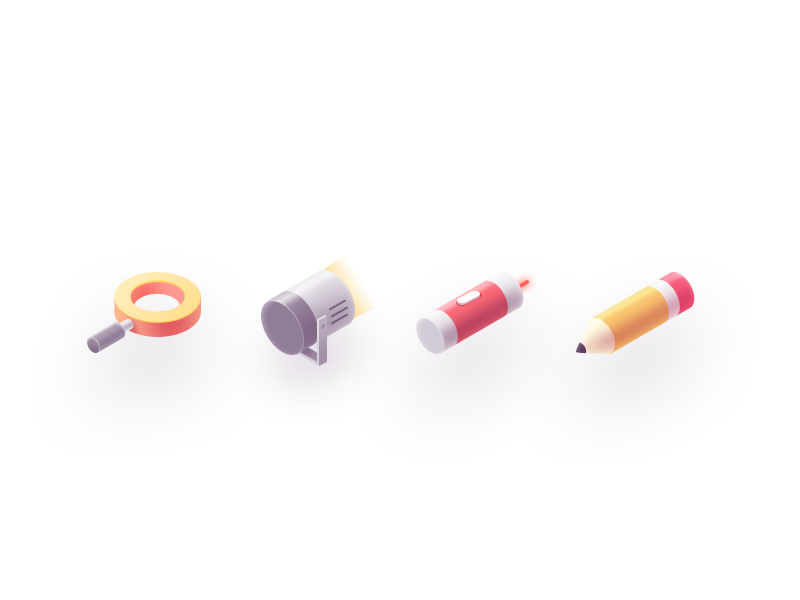 Creative icons by Rwds