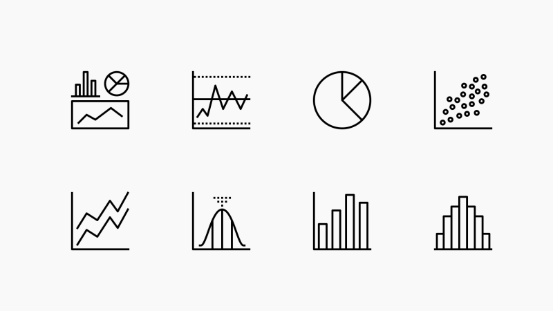 Data Analysis Infographics icons by Becris