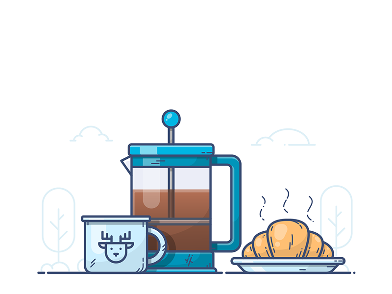 French Press by Alexander Kunchevsky
