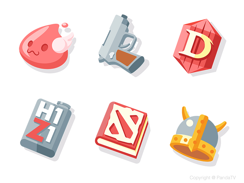 Game icons by Daz_Qu