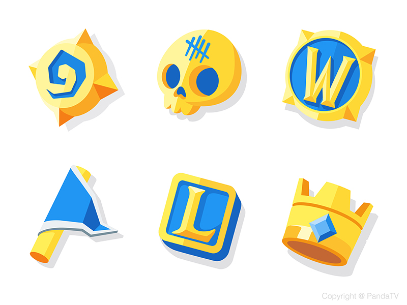 Game icons collection by Daz_Qu