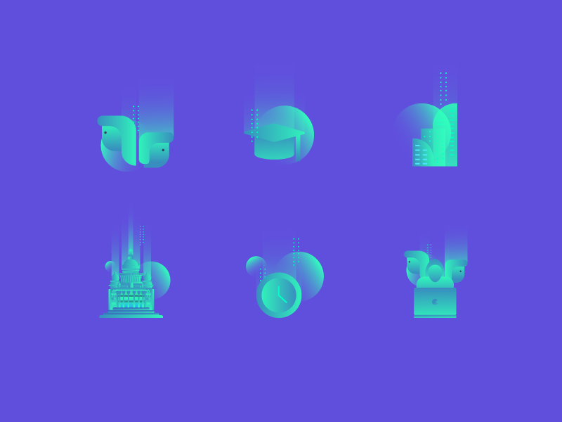 Icons for InOut Hackathon by Dalpat Prajapati