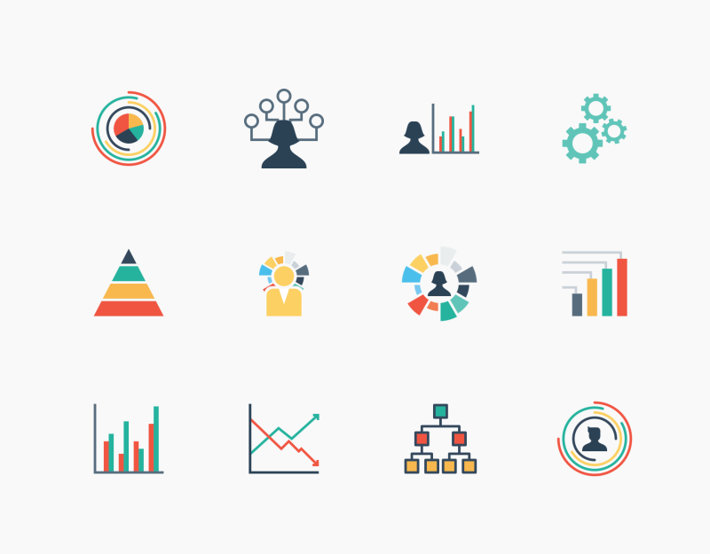 Infographic Elements solid icon collection by Jemis Mali