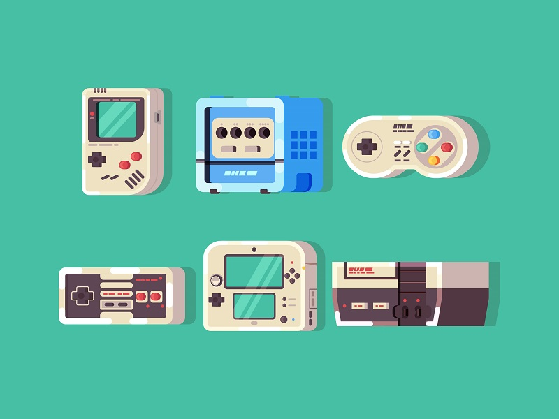 Nintendo Icon Set by Bojan Oreskovic