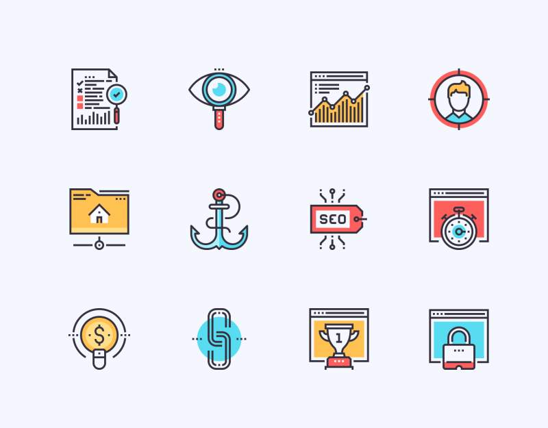 SEO And Web Optimization icons by Maxim Basinski