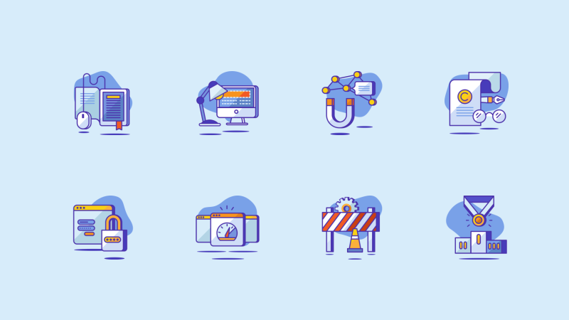 SEO and Startup icon pack by Sooodesign