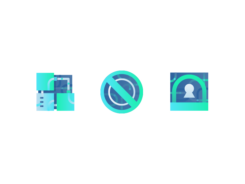 Safe and stable service icons by Jingyii