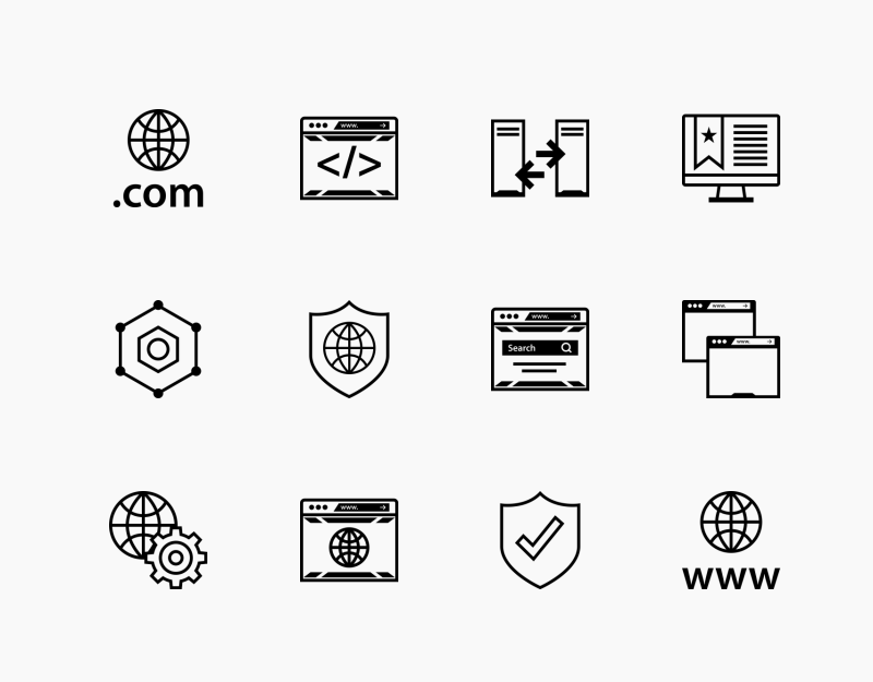 Seo And Web icon collectio by Alfredo Hernandez
